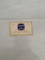 15679   MINI  CARTE A.BIETTE ET FILS NANTES.PAIS LYATRIS DU JAPON AVON ET PARFUM - Publicités