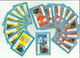 VIEUX BONS BLEUS FRANCE COLLECTION ESSO Pour L'achat De Carburant  1 X 5 Points;8 X 2 Points;11 X 1 Point - Autres Collections