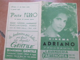 Programma CINEMA Adriano Napoli La Monaca Di Monza Antonio Sabato Anne Heywood - Programs