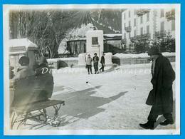 Chamonix 1929 * Monument Chautemps / Hôtel De L'Univers (cf Description) * Photo Originale - Places
