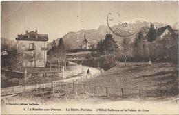 D 74.  LA ROCHE SUR FORON.  LA BENITE FONAINE.  L HOTEL BELLEVUE - La Roche-sur-Foron