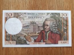 10 Fr Voltaire Du 5/11/1970 - 1962-1997 ''Francs''