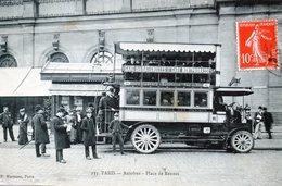75  PARIS  AUTOBUS  à IMPERIALE    Place De Rennes - Transporte Público