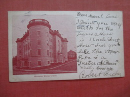 Private Mailing Card    Worcester  Woman's Club   Massachusetts > Worcester  >>  Ref 4028 - Worcester