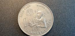 SWAZILAND : 1 Lilangeni 1981 - Swaziland