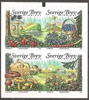 SUEDE 2004 (Yvert 2400-03) - Fruits Champignons (MNH) Sans Trace De Charnière - 035 - Ungebraucht