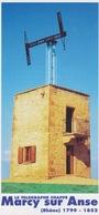 Flyer Touristique 69 MARCY SUR ANSE - Tour Réhabilitée Station Avec Télégraphe Aérien Optique De Chappe - Tourism Brochures