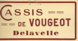 CASSIS DE VOUGEOT DELAVELLE - Alcohol
