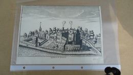 Flandria Illustrata  1735 - Antonius Sanderus  - Boulaere ( Geraardsbergen - Nederboelare ) - Obj. 'Souvenir De'