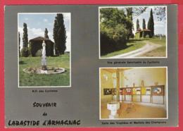 LABASTIDE D'ARMAGNAC- N.-D. Des Cyclistes - Multivues- Souvenir Du 18 Mai 1959 - 2 Scans - France