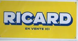 Tôle RICARD - Alcools