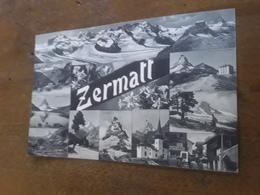 Cartolina Postale, Postcard 1912, Zermatt, Suisse - VS Valais