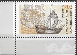 2006 Allem. Fed. Deutschland  Germany  Mi. 2558 **MNH  EUL  650 Jahre Hanse - [7] République Fédérale