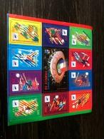 Bloc Timbres Stade De France Foot France 1998 - Sheetlets