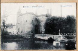 Be081 België BRUGES  West-Vlaanderen Brugge Porte De GAND 1910 à POIROT Rentière Vaucouleurs Meuse LAGAERT Bruxelles - Brugge