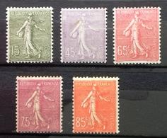 France, Timbres Neufs *, Avec Trace De Charnière. - 1903-60 Semeuse Lignée