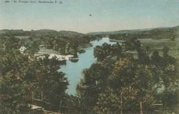Riviere Saint-Francois, Sherbrooke, Quebec   St. Francis River - Sherbrooke