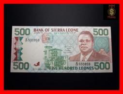 SIERRA LEONE 500 Leones 27.4.1991 P. 19  AU \ UNC - Sierra Leone
