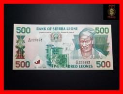 SIERRA LEONE 500 Leones 15.7.1998 P. 23 B  UNC - Sierra Leone