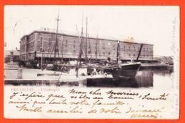 Be315 BRUXELLES L' Entrepot 1900s De  Henri VAN HOREN à Marius OLLIER Toulouse - Maritiem