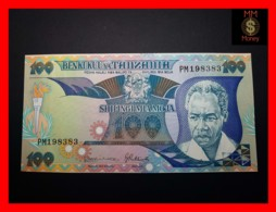 TANZANIA 100 Shilingi 1986 P. 14 B   UNC - Tanzanie