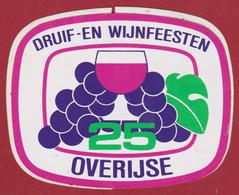 Overijse Druivenfeesten Druif- En Wijnfeesten 25 Sticker Adesivo Aufkleber Autocollant - Autocollants