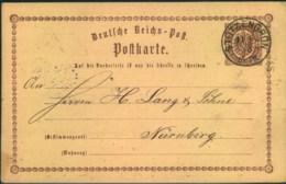 1873, STÜTZENGRÜN, Seltenere Sachsen Nachverwednung Auf 1/2 Gr. Brustschild GSK - Saxe