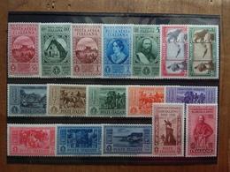 REGNO - Garibaldi Serie Completa P.O. + P.A. Nuovi * (leggerissima T.L.) + Spedizione Raccomandata - 1900-44 Vittorio Emanuele III