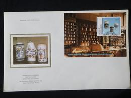 "BELG.1994 BL69 (2568) FDC Zijde/soie (Maaseik) : ""  Porcelein / Porcelaine "" - FDC"