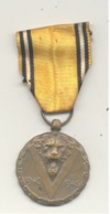 Guerre 40/45 - Médaille Commémorative - Armée Belge - Avec Ruban Et Boîte - België