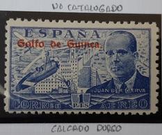 Guinea N268**sin (calcado Dorso - Guinea Española