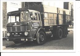Seraing - Photo - Camion - Transports R. Stoffel Tel 345139 à Seraing - Format: 12.5/9cm. - Seraing
