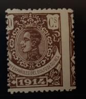 Guinea N103**sin (dentado Desplazado - Guinea Española
