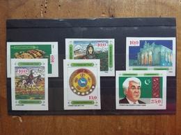 TURKMENISTAN - Nn. 4/9 ** Non Dentellati + Spese Postali - Turkmenistan