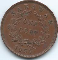 Sarawak - Rajah Charles V Brooke - 1937 H - 1 Cent - KM18 - Malasia