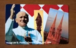 TESSERA TELEFONICA VATICANO GIOVANNI PAOLO II - Vaticano