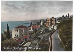 5939 - TAORMINA MESSINA HOTEL BRISTOL E VILLA S PIETRO 1952 - Altre Città