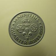 Mauritius 1/4 Rupee 1950 - Mauritius