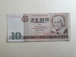10 Zehn Mark 1971 - [ 6] 1949-1990 : RDA - Rep. Dem. Tedesca
