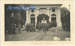 1940 - Destruction Du Mémorial De L'Armistice - Musée Abritant Le Wagon - Forêt De Compiègne - Rethondes - Clairière - War, Military