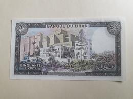 Banque Du Liban Cinquante Livres (neuf) - Líbano