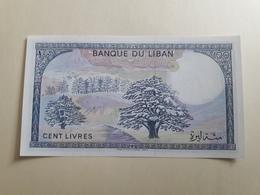 Banque Du Liban Cent Livres (neuf) - Líbano