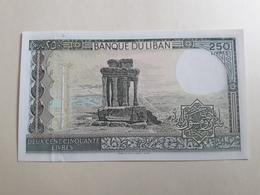 Banque Du Liban Deux Cent Cinquante Livres (neuf) - Líbano