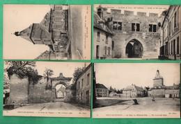 02 Aisne Coucy Le Chateau  Lot De 4 Cartes Postales - France