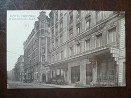 Carte  Façade De Commerce Hôtel Moderne    -LILLE - Lille