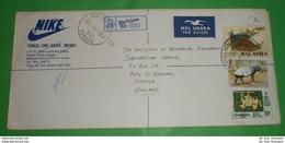 MALAYSIA - Registered R- Brief Letter Lettre 信 Lettera Carta пи�?ьмо Brev 手紙 จดหมาย Cover Envelope (2 Foto)(34143) - Malaysia (1964-...)