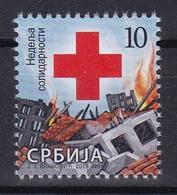Serbia 2019 Red Cross Week Croix Rouge Rotes Kreuz Cruz Roja Croce Rossa Tax Charity Surcharge Stamp MNH - Serbia