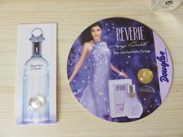 Echantillon Carte Parfumée Bulle Vanderbild Arden - Perfume Samples (testers)