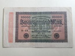 20000 Mark 1923 - [ 3] 1918-1933 : República De Weimar