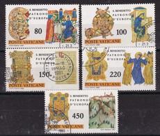 Vatican 1980, Complete Set Vfu - Oblitérés